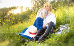 Howl's Moving Castle - Howl and Sophie 4 by KiaraBerry