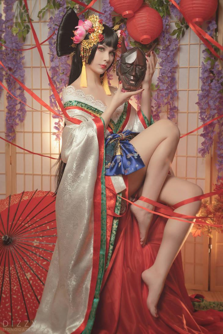Zone00 - Mayoko Okino (Kimono ver.) 2