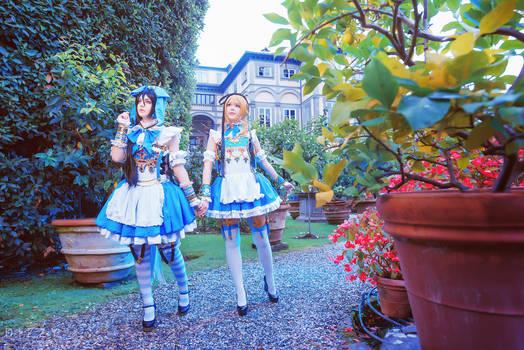 Adekan - Anri and Shiro (Alice in Wonderland) 6