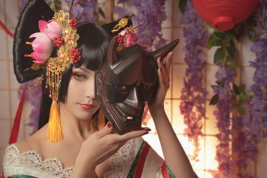 Zone00 - Mayoko Okino (Kimono ver.) 6