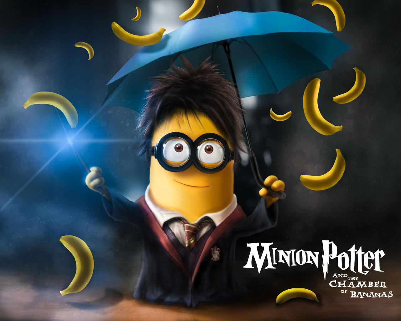 Minion Harry Potter (drawn by Alexander Levett) by AlexanderLevett