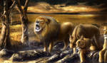 The Pride (painting by Alexander Levett)