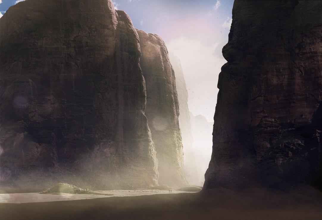 Environment Concept 5 by AlexanderLevett