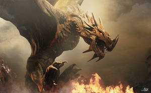 Dragon Fire by AlexanderLevett