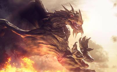 Dragon Fire 2 by AlexanderLevett