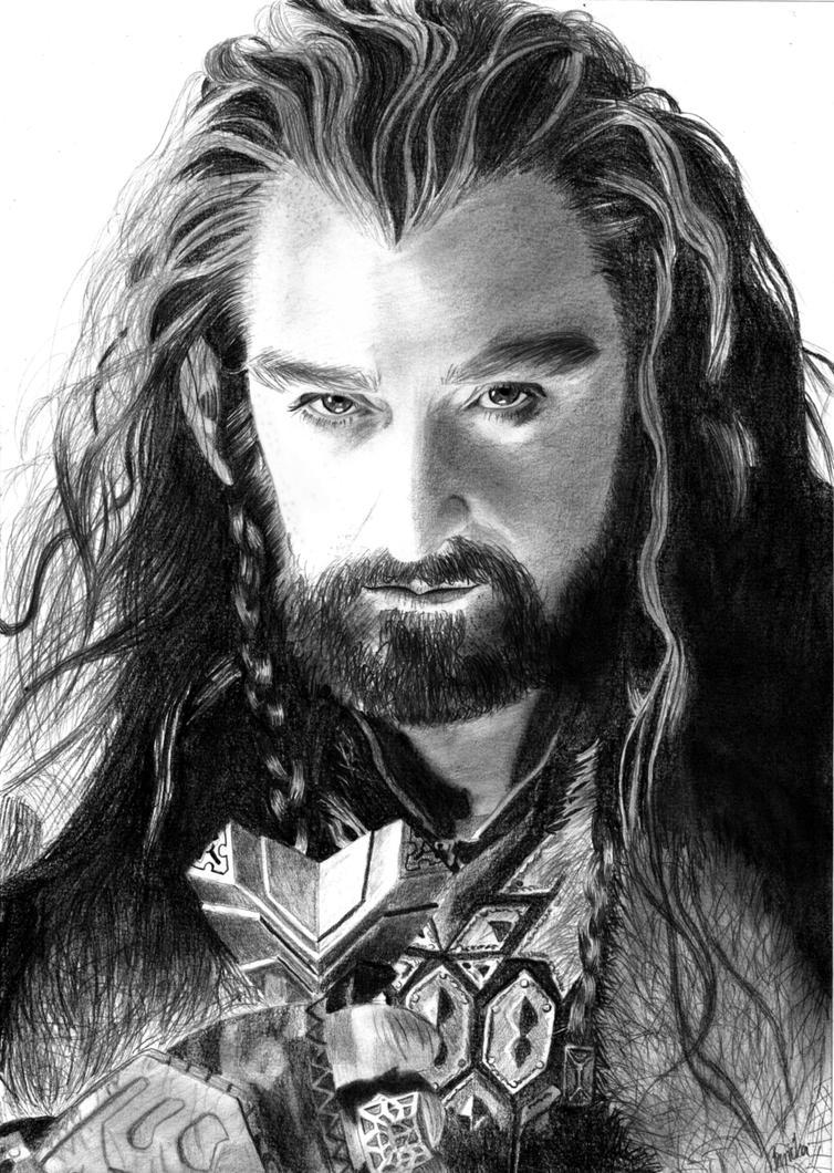 Thorin Oakenshield by Baricka