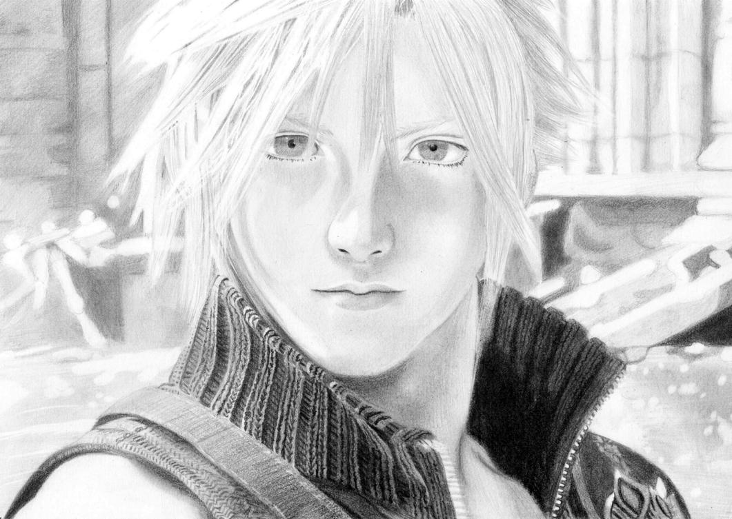 Cloud Strife by Baricka
