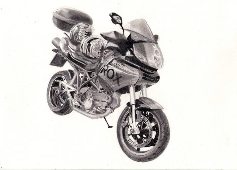 motorcycle by Baricka