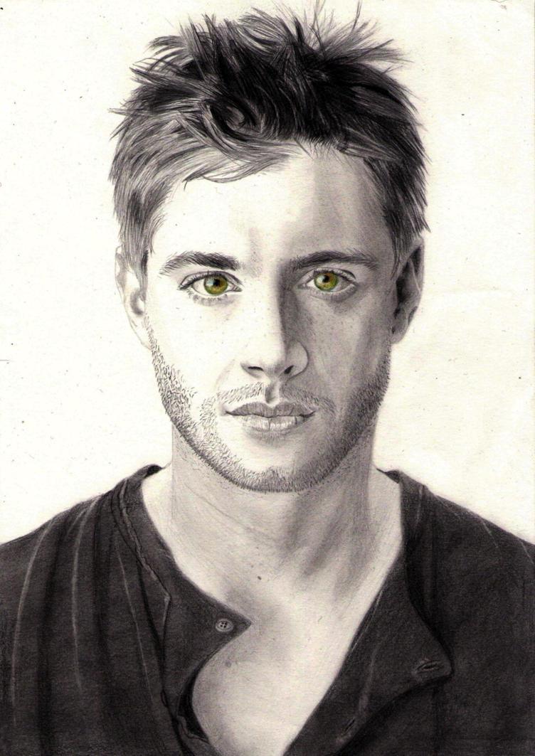 Jensen Ackles by Baricka