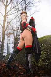 Bison Cammy variant from Street Fighter
