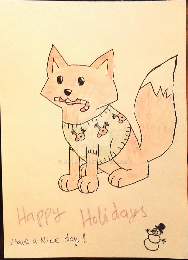 Happy Holidays by D1strust