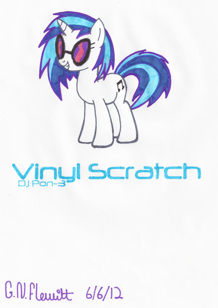 MLP Vinyl Scratch! :D by Dolpgirl