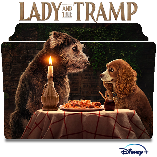 Lady And The Tramp 2019 Movie Folder Icon By Nandha602 On Deviantart