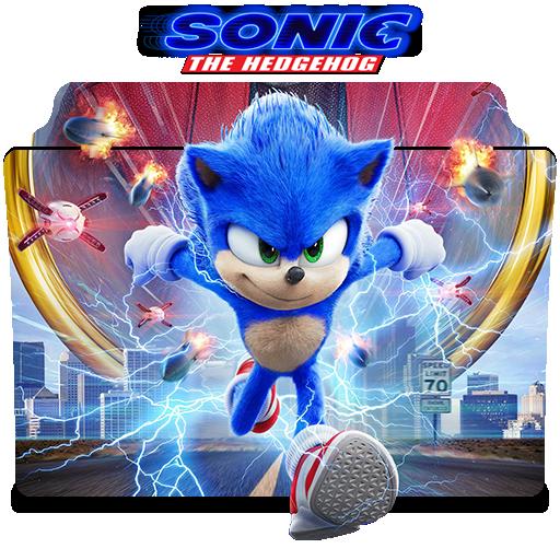Sonic The Hedgehog 2020 Movie V1 Folder Icon By Nandha602 On Deviantart