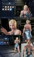 Tekken 7 Nina Williams Make Up + Summer Dress Mod