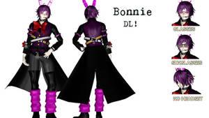 [MMDxFNaF] Bonnie (DL!) by tvall13
