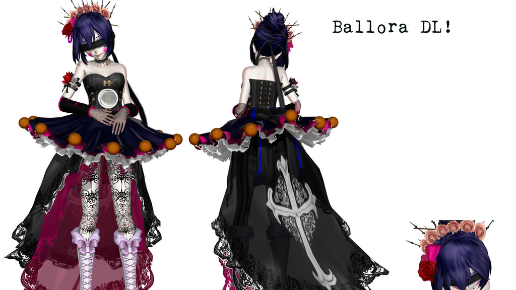 [MMDxSister Location]  Ballora (DL!) by tvall13