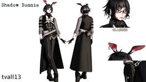[MMDxFNaF2] Shadow Bonnie (DL!) by tvall13