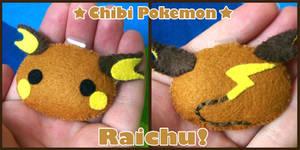 Chibi Pokemon - Raichu