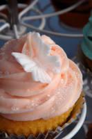 Ani Cupcakes Pink Close-up by Kelzky