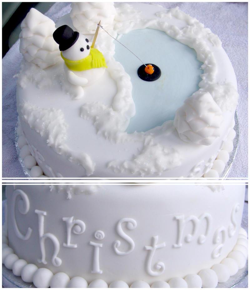 Christmas Cake by Kelzky