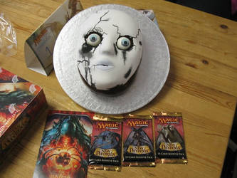 Phyrexian Unlife Cake by Kelzky