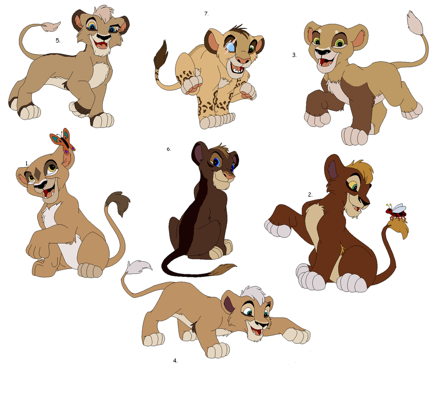Lion Cub Adoptables By Claire-Cooper On DeviantArt