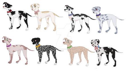 Dalmatian Adoptables