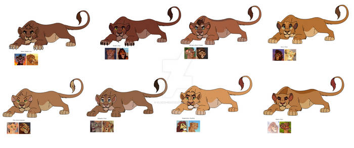 Crackship Lion Adopts (Open)