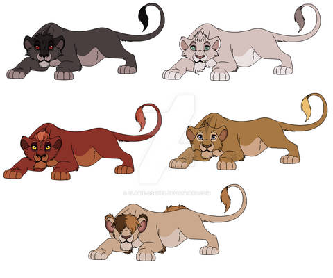 Some Lion Adopts (OPEN)