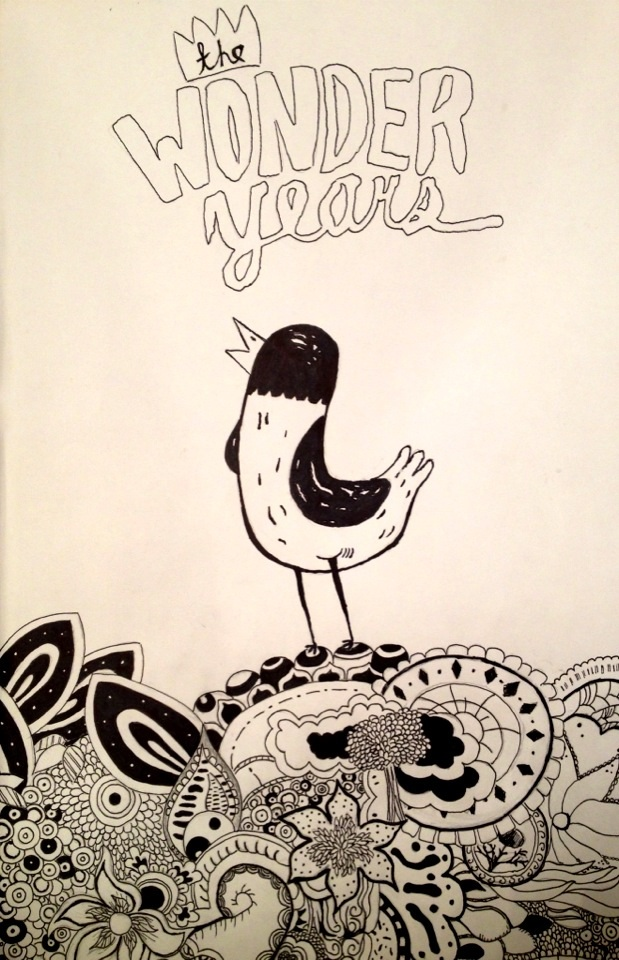 Bird in the Garden - The Wonder Years by QuietKidCreations