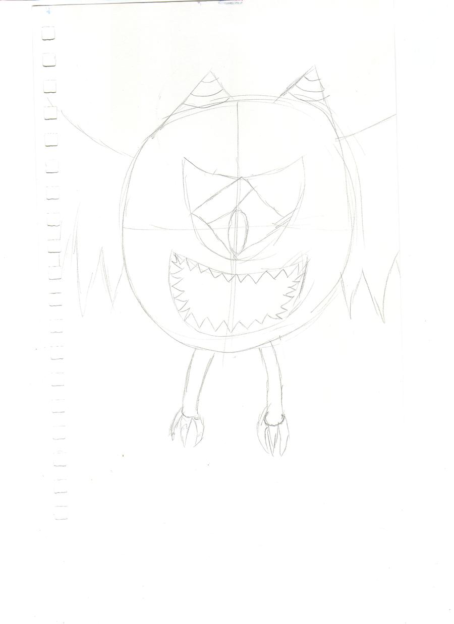 Line Art Game : Video game monster line art by anime king zi on deviantart