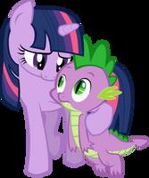Twilight loves Spike by WWrite