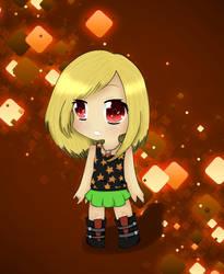 K-chan chibi by Ashleythehedgehog101