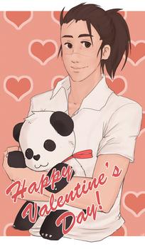 Iruka Valentine's Day Card