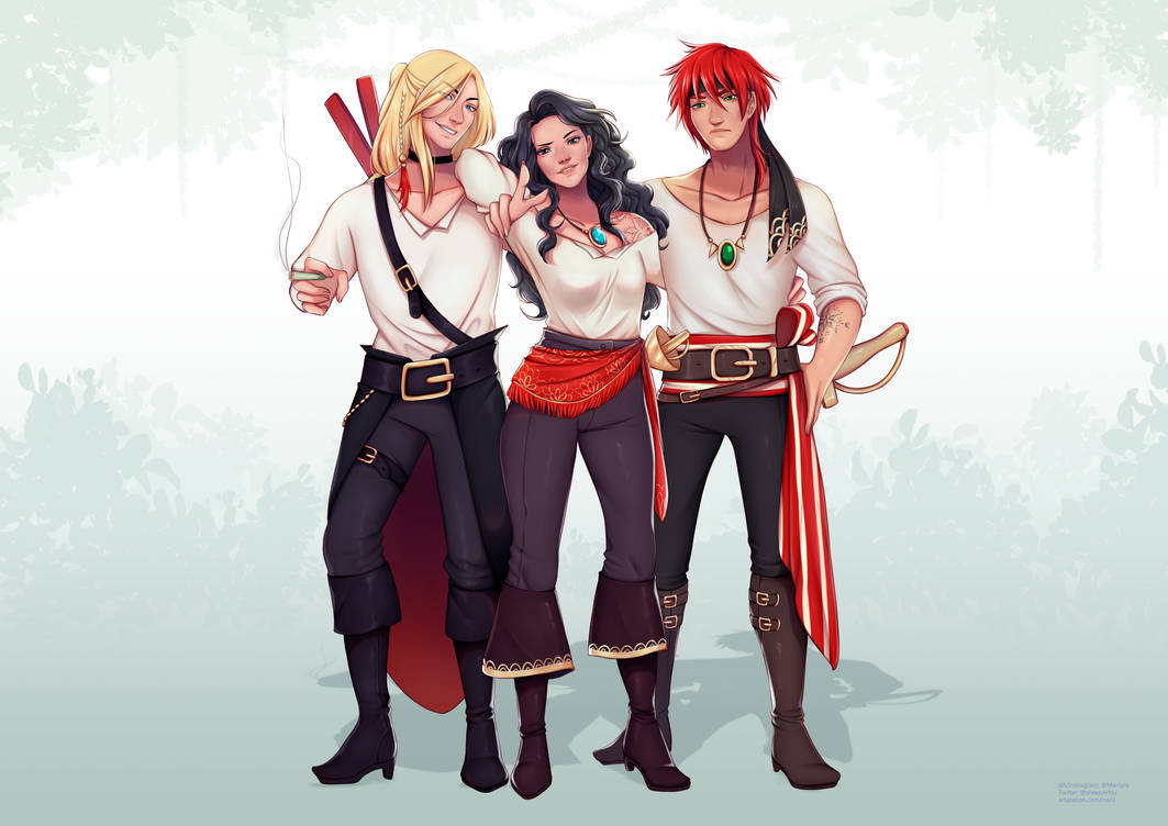 Pirate Trio