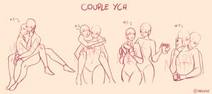 COUPLE YCH (Set Price) OPEN!! (3/4) by Mariipie