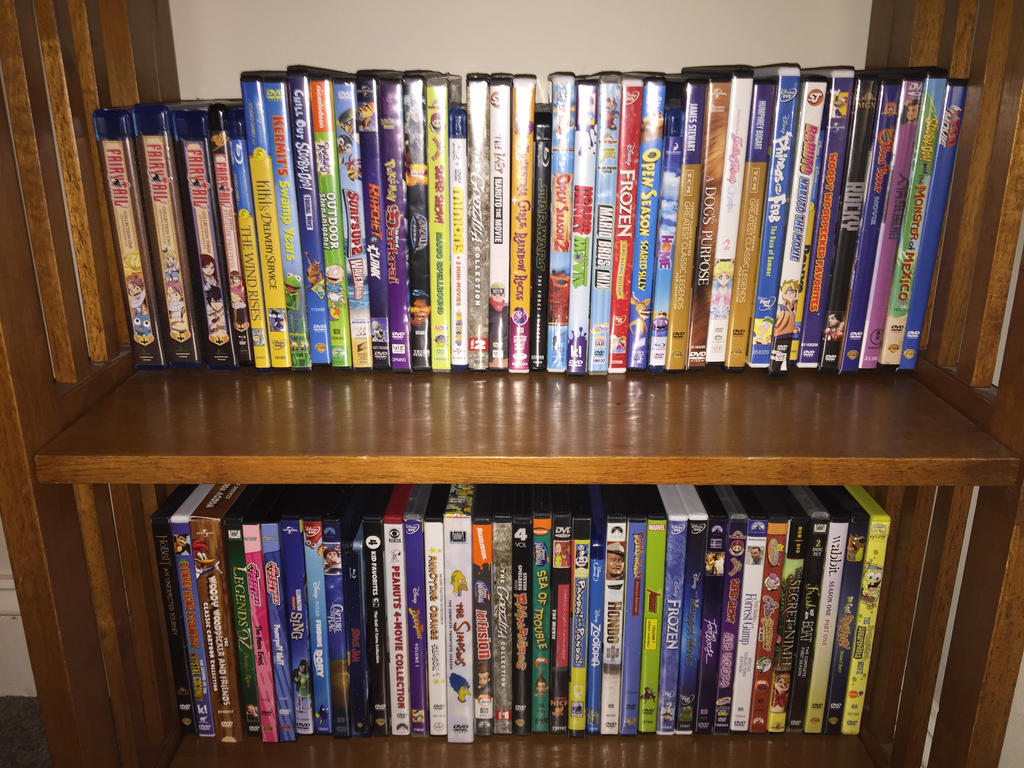 My DVD Collection by FairyTailFanatic2003 on DeviantArt