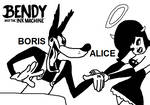 BATIM - Boris and Alice in Tex Avery Form by Fortnermations