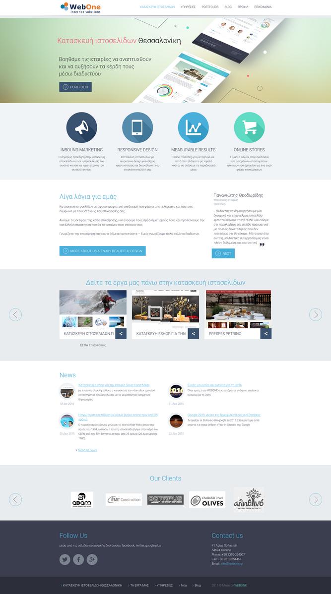 WEBONE web design agency by WebOneWebDesign