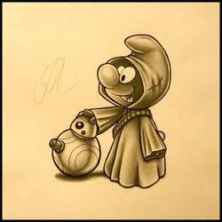 Jawa Smurf by Silk86