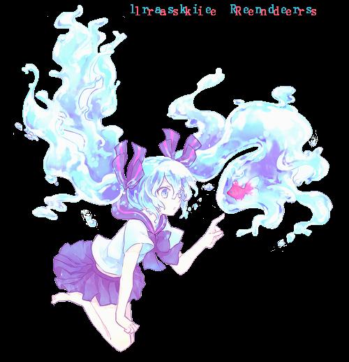 Hatsune Miku Bubbles by lraskie