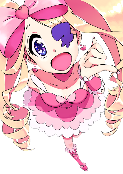She fakes the Hyper Kawaii Desu mode so badly, its not at all surprising shes a raging sociopath with the most repulsive and miserable character in the