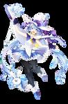 Hatsune Miku Winter Witch Render