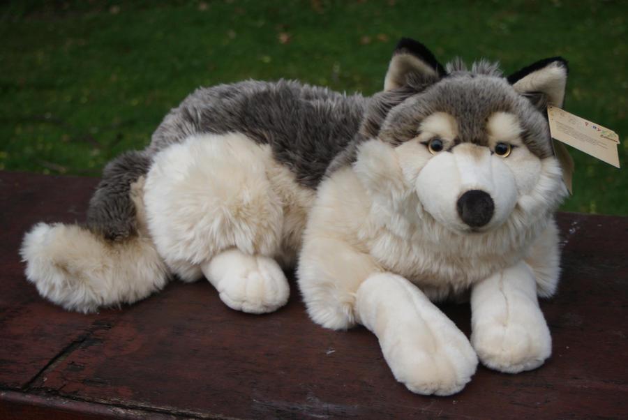 plush wolf by playkids by huskyplush on deviantart. Black Bedroom Furniture Sets. Home Design Ideas