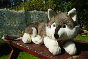 Plush and Company 24 Inches wolf plush