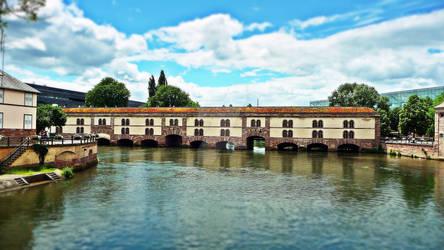 Strasbourg - Barrage Vauban by Paseas-Images