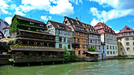 Strasbourg - Houses at the Ill by Paseas-Images