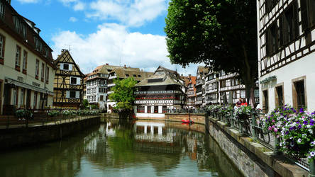 Strasbourg - View to Place Benjamin Zix by Paseas-Images