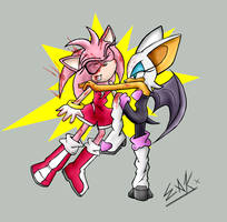 GIRL FIGHT by Superspud